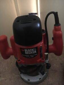 Black and decker plunger router 1 1/3 HP