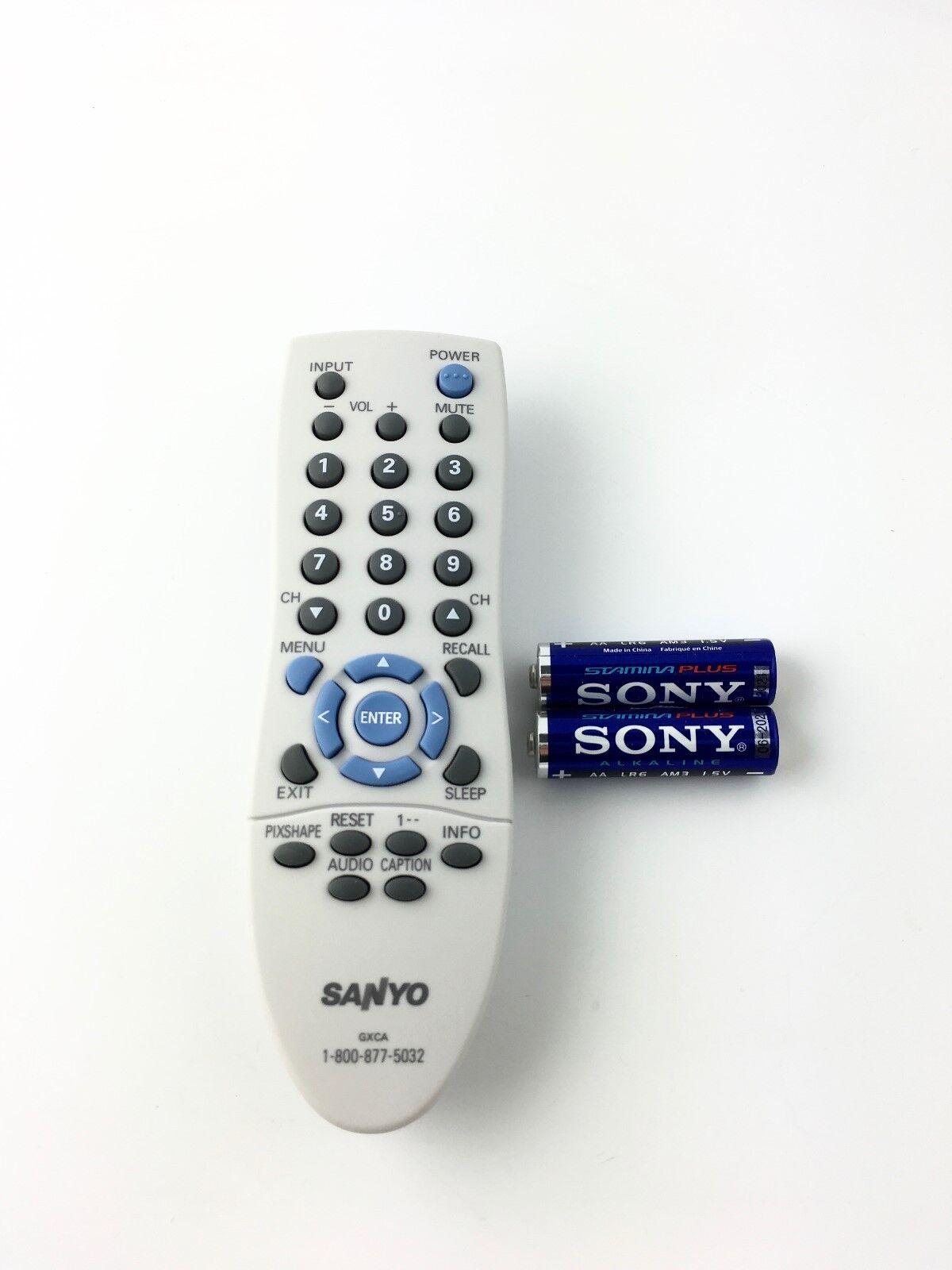 NEW ORIGINAL SANYO GXCA TV Remote Control DP19647 DP15647 DP