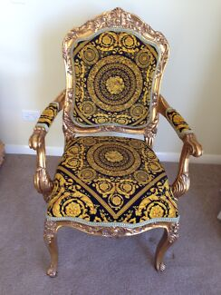 Versace inspired Arm Chair Benowa Gold Coast City Preview