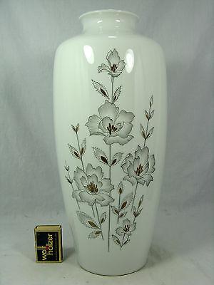 "Beautiful decorated 70´s ALKA Alboth & Kaiser  Porzellan Vase ""Boulevard"" 34 cm"