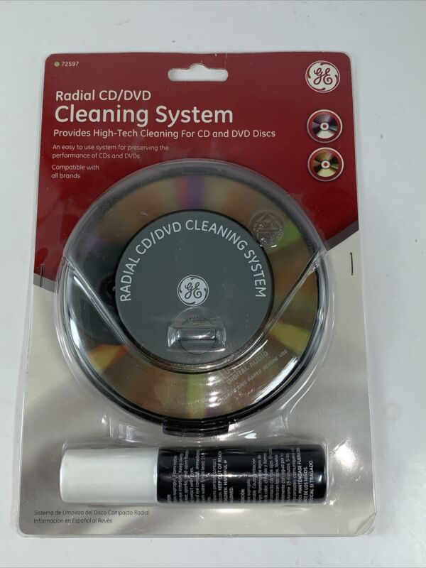 Radial CD DVD Cleaning System 72597 GE 030878725972