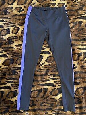 Zella Women's Black Purple Pants Leggings Active Wear Pants Sz M