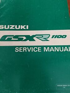 1989-1991 Suzuki GSXR1100  Service Manual
