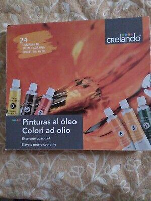 Pinturas de Oleo 24 colores x 18 ml. nuevo