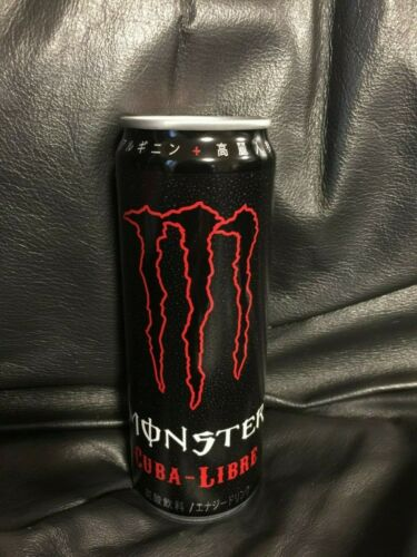 Monster Energy Drink Cuba Libre 355ml Can From Japan Full Discontinued Rare