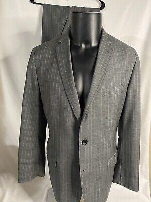 1950s Mens Suits & Sport Coats | 50s Suits & Blazers Mad Men X Banana Republic Collection Pinstripe Suit Size 40S Don Draper $55.00 AT vintagedancer.com