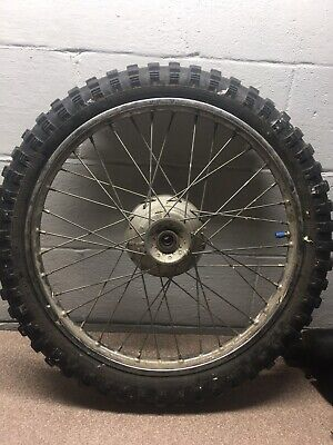 2001 2002 2003 Honda Xr100r Front Wheel And Tire