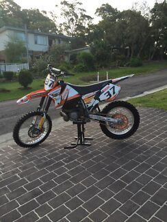 2001 KTM 250 exc Newcastle 2300 Newcastle Area Preview