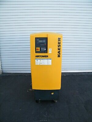 2010 Kaeser Airtower 7.5 Hp Rotary Screw Air Compressor Ingersoll Rand Dryer