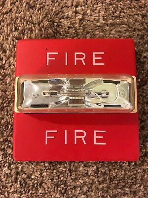 Wheelock Rss-2415w Fire Alarm Strobe 20-31vdc