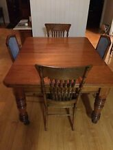 Antique/Farmhouse Cedar Table with 6 Chairs Tallegalla Ipswich City Preview