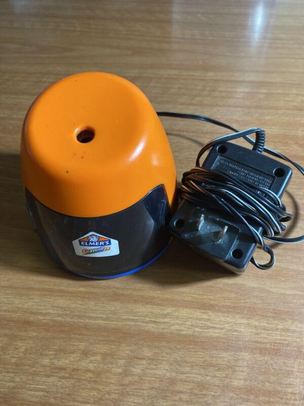 Elmers Crayon Pro Electric Crayon Sharpener