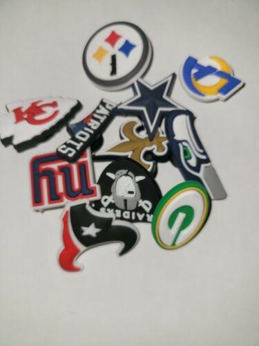 NFL Football Team Croc Jibbitz Croc Charm, Your Choice