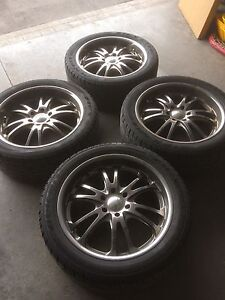 22 Inch Rims on New Tires