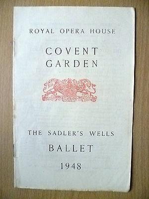 Ballet Programme 1948- GISELLE & THE THREE CORNERED HAT
