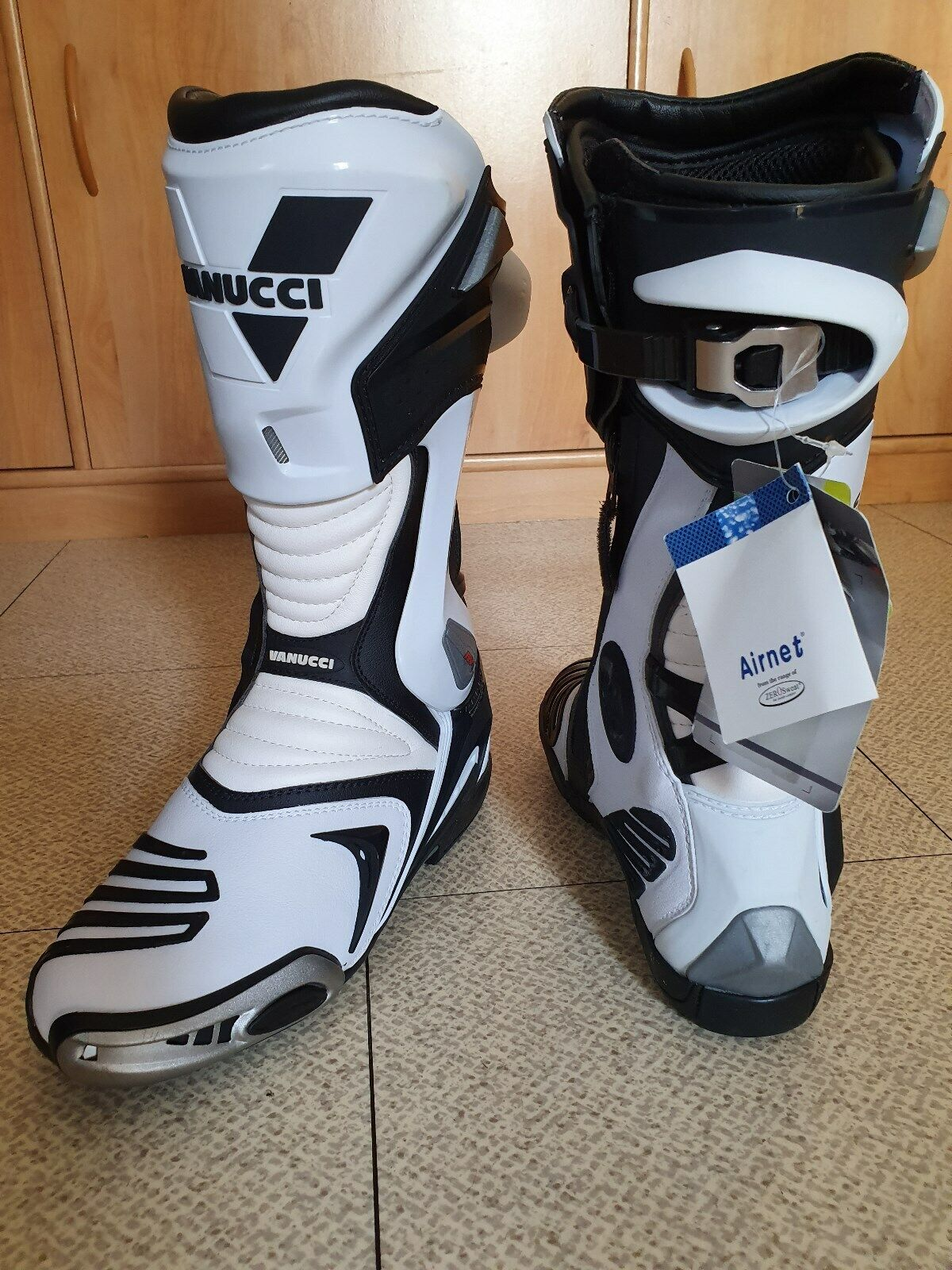 Bottes moto racing vanucci  pointure taille 40
