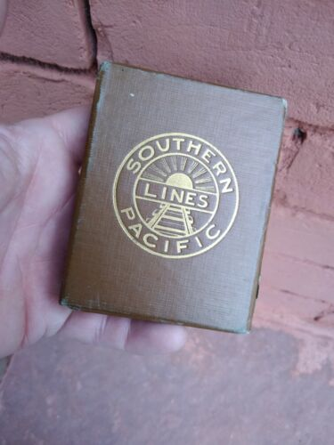 SOUTHERN PACIFIC LINES Playing CARDS Complete VINTAGE RAILROAD 52 ILLUSTRATIONS