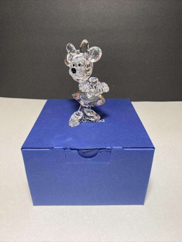 Swarovski Crystal Figurine 687436 Disney Minnie Mouse