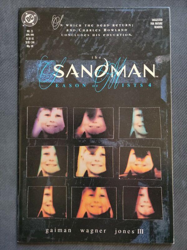 Sandman #25 DC. Key issues 1st DEAD BOY DETECTIVES to appear in DOOM PATROL