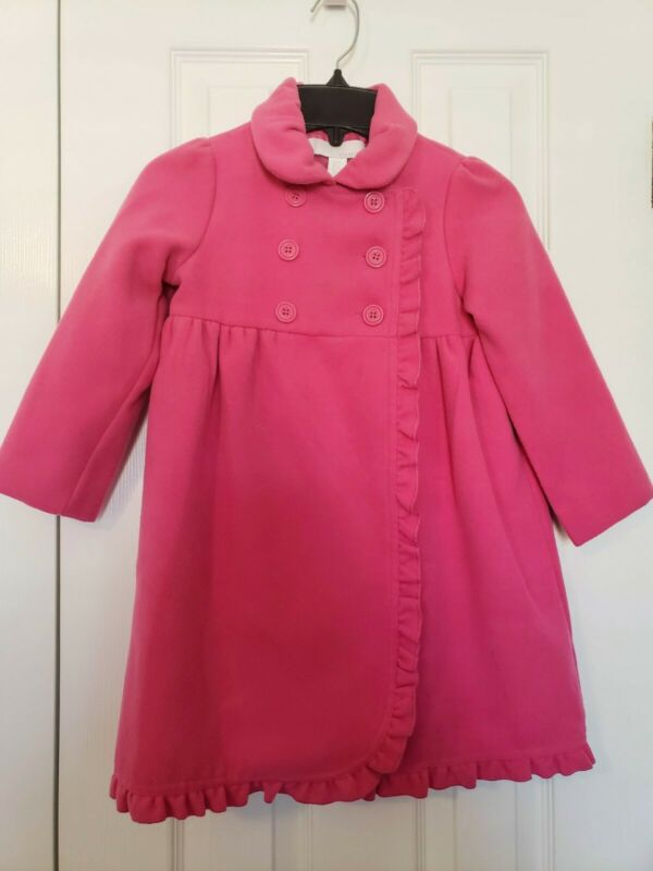 Camilla Pink Long Sleeve Winter Coat Size 4T Girls