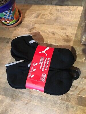 women's 6 pack performance low cut PUMA socks 5-9.5