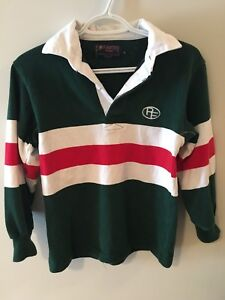 Patrick Fogarty Uniform Rugby Long sleeve, size youth L