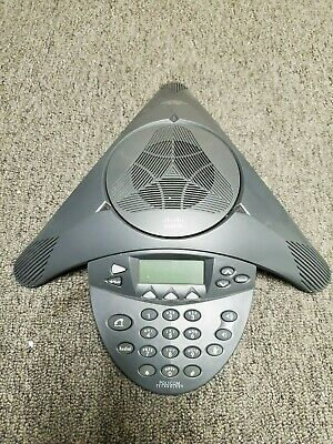 Cisco Polycom Cp-7936 7936 Ip Conference Speaker Phone Station Office Sip Sccp