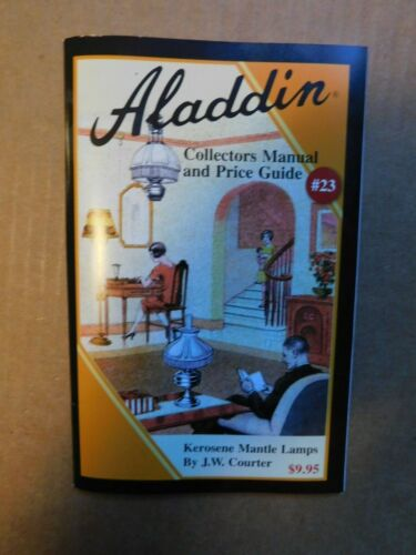 Aladdin Collectors Manual And Price Guide #23 J.W. Courter Used