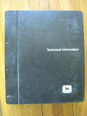 John Deere 4650 4850 Tractor Technical Repair Manual