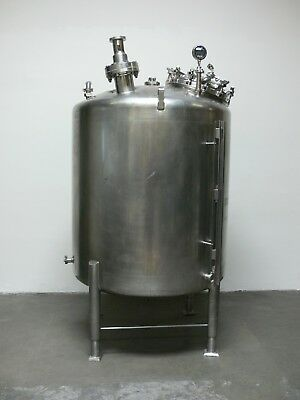 Dci 500 Gallon Stainless Steel Single Walled Tank Reactor Pressure Vessel