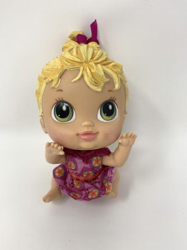 "Hasbro 2010 Crib Life Born Awesome Ella 7"" Doll Criblife Baby Alive Lulu Outfit"