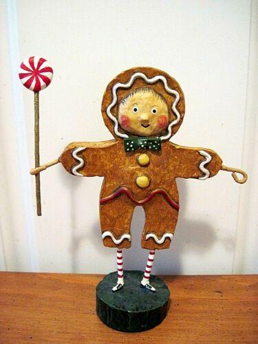 ESC Lori Mitchell New Christmas Gingerbread Boy Figure