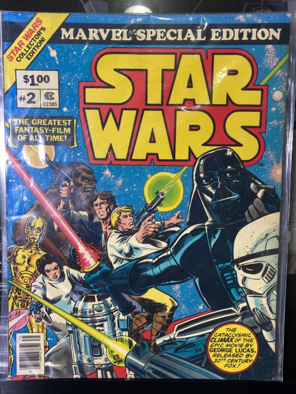 Marvel STAR WARS #2 FN MARVEL SPECIAL TREASURY EDITION Oversized Book 1977