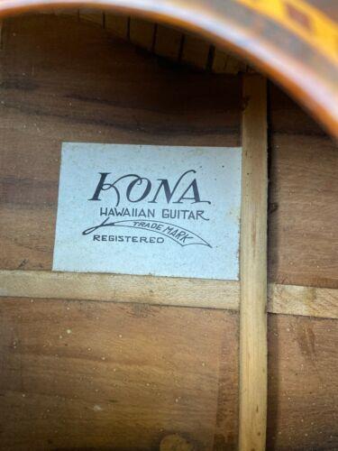 Vintage Kona Hawaiian Guitar Rade Lap Acoustic Guitar 1930
