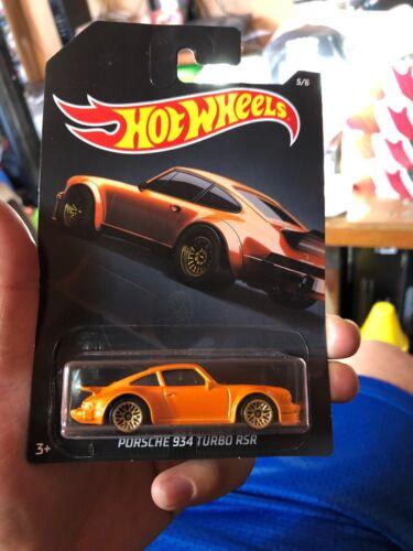 Hot Wheels 1:64 Walmart Exclusive EXOTICS PORSCHE 934 TURBO  5//6