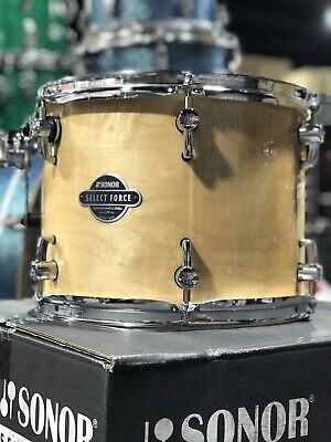 Sonor Drum Set Select Force Stage 3 5-Piece Shell Pack, Natural + 6 Pr VATER