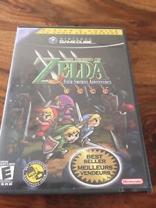 The legend of Zelda, Four Swords Adventures, Nintendo Gamecube