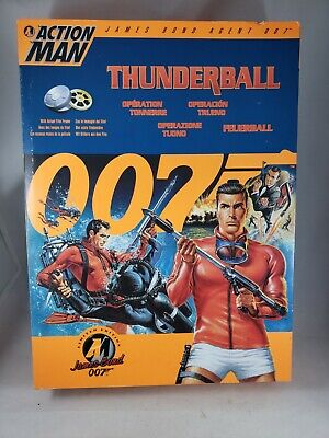 Hasbro Action Man James Bond 007 Thunderball Action Figure