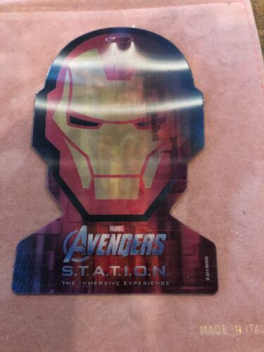 Avengers S.T.A.T.I.O.N. Ironman Addmision Ticket