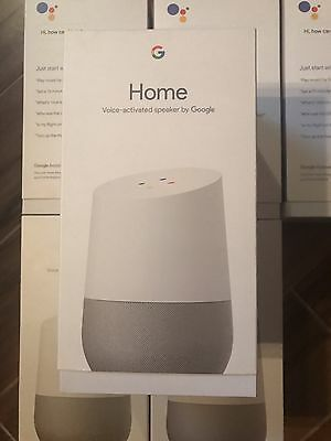 Google Home   White Slate  Google Personal Assistant  Brand New