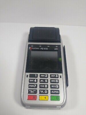 Fd410 Wireless Credit Card Terminal For Parts Only First Data