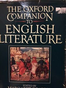 Oxford Companion To English Lit