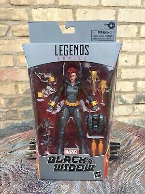 Marvel Legends Black Widow Gray Suit Walmart Exclusive Hasbro Action Figure 2020