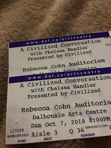 Chelsea Handler - 2 Tickets for tonight!