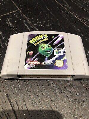 Iggy's Reckin Balls - Nintendo N64 Game - Game Cartridge Only - N64 Game