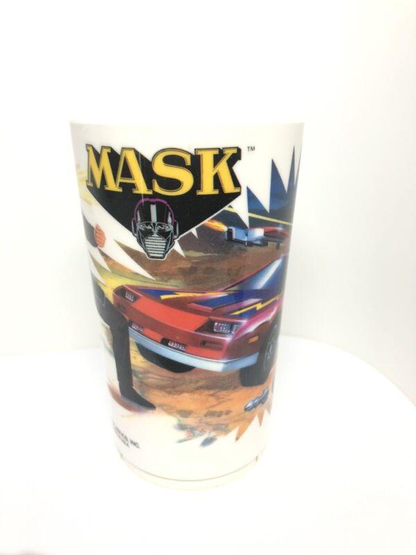 Vintage 1985 M.A.S.K. Deka Plastics Cup MASK Kenner