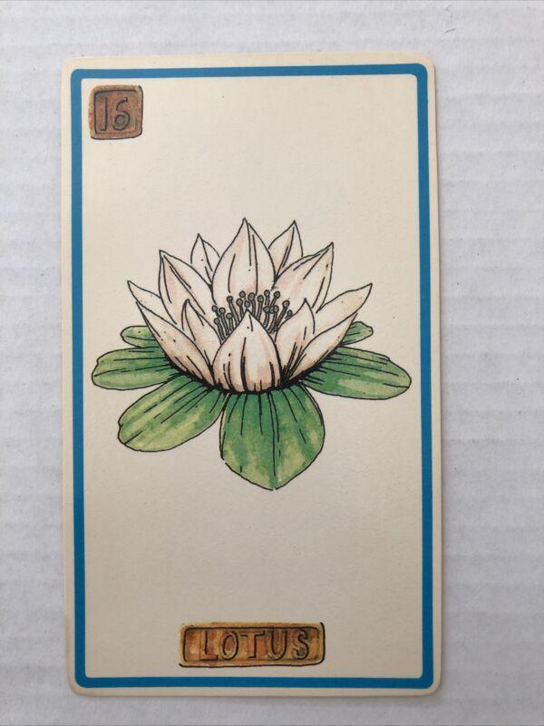 Cartouche Lotus Card 16 Single Card Only No Box