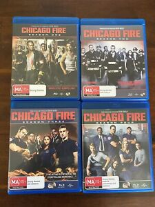 Chicago Fire Blu Ray S1-4