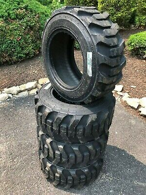 4-23x8.5-12 Skid Steer Tires-23x8.50-12- Galaxy Xd2010 For Bobcat 404 453 463