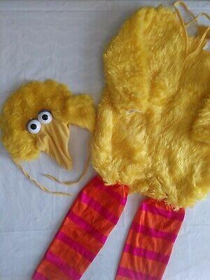 Vintage Size Toddler 4-5 Sesame Street Big Bird halloween Costume kids